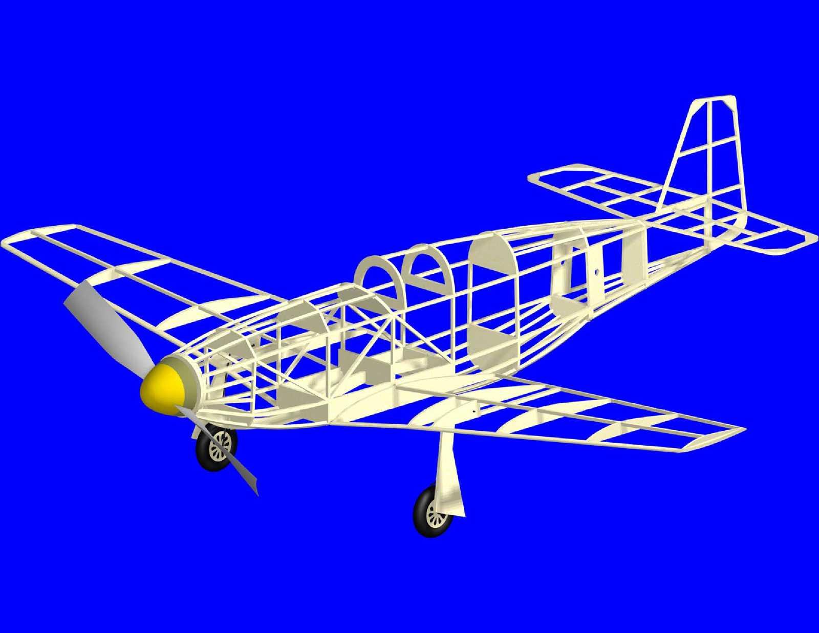 CAD drawn versions of Comet stick models