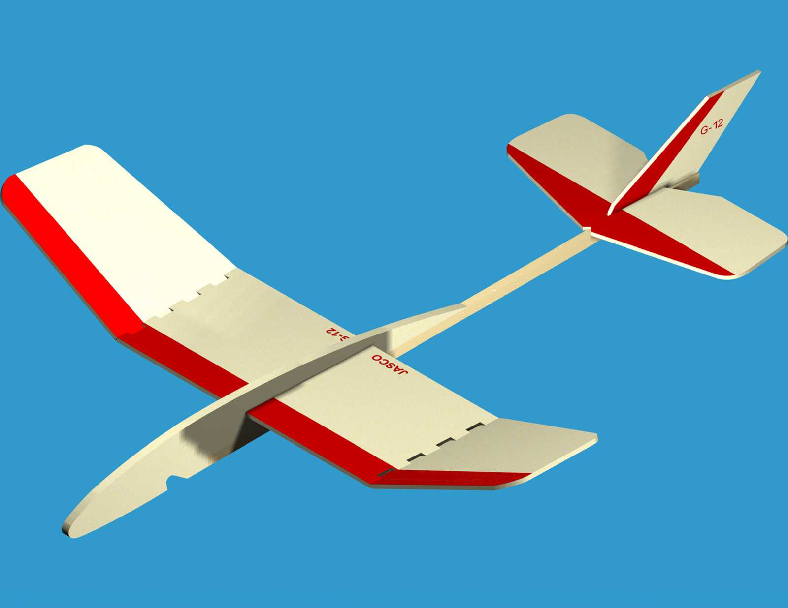 catapult balsa glider plans